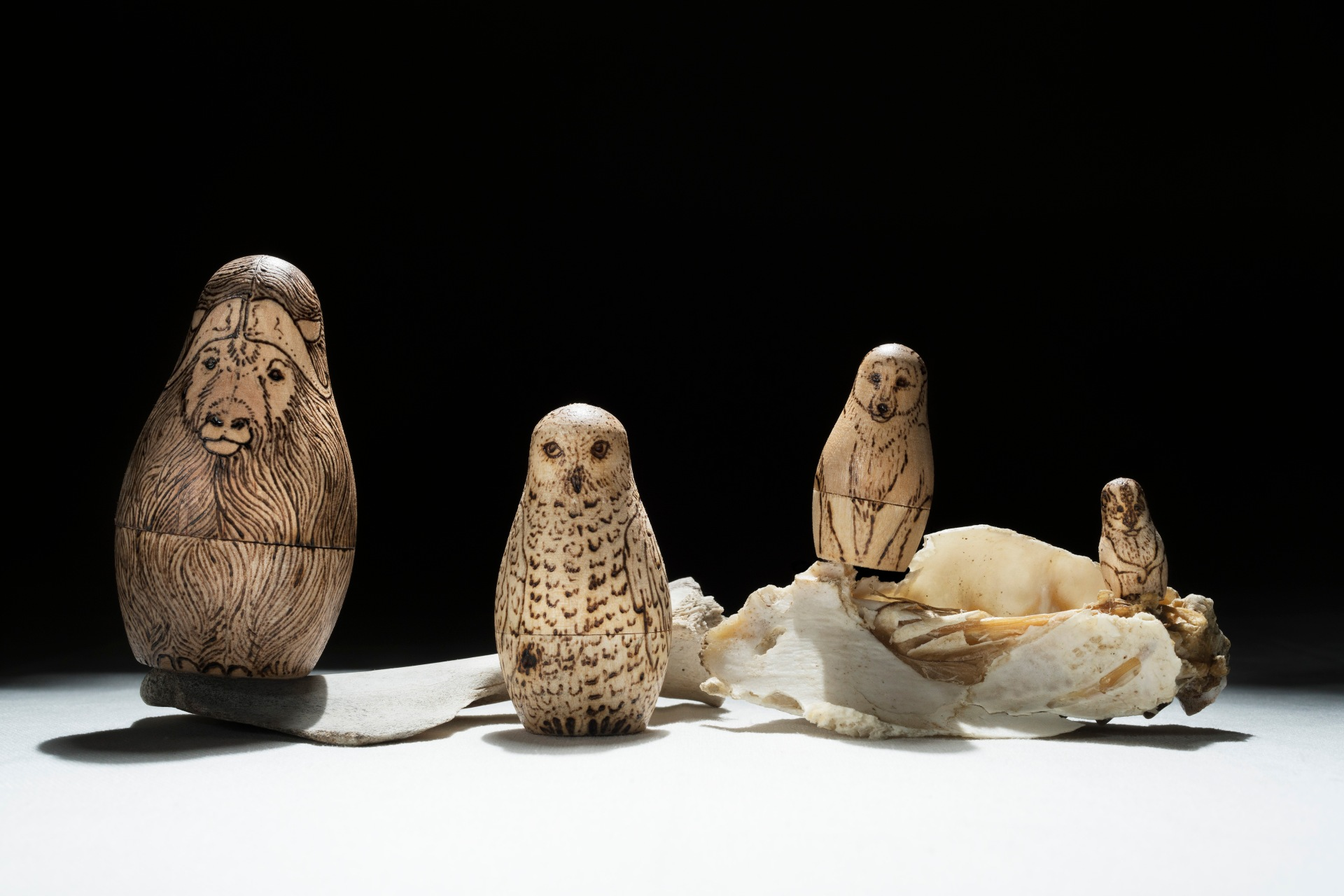 wood-burning-nesting-dolls
