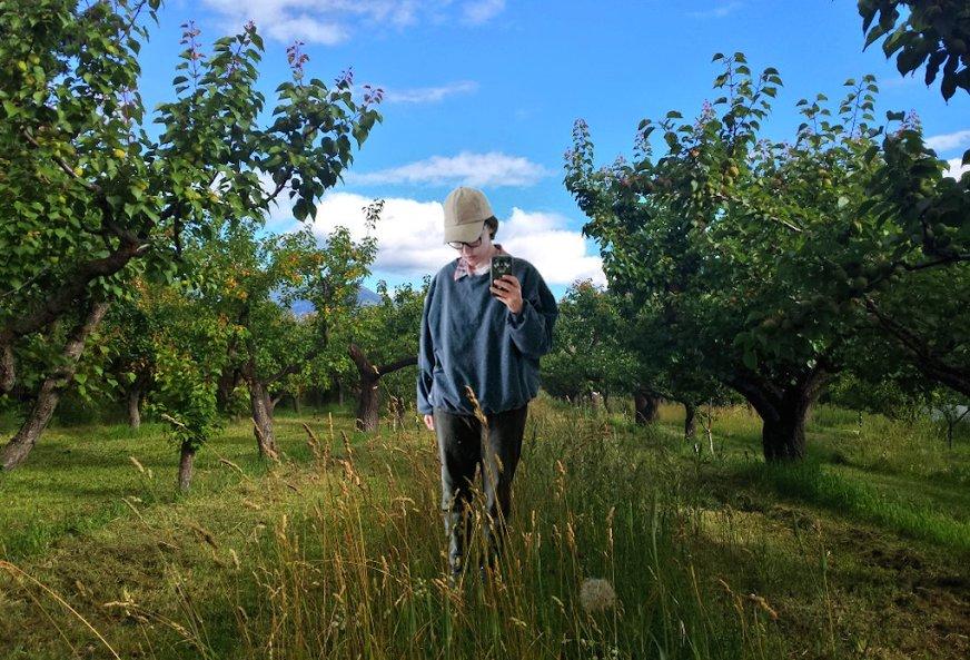farm-selfie