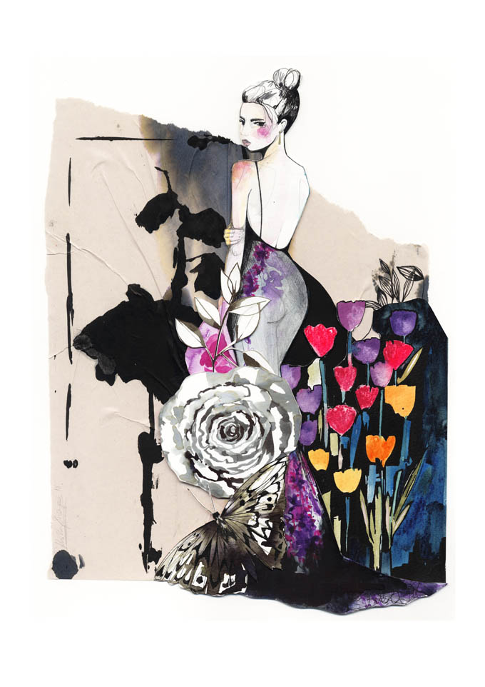Evening Bloom collage 72dpi Holly Sharpe